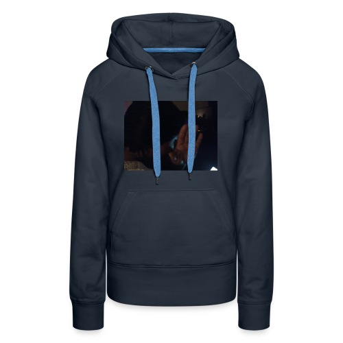 Out my face - Women's Premium Hoodie