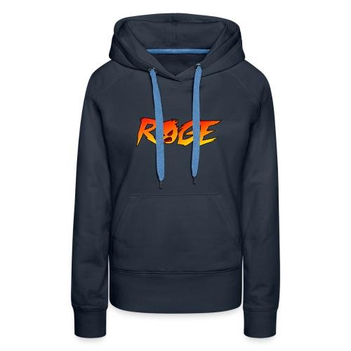 Rage T-shirt - Women's Premium Hoodie