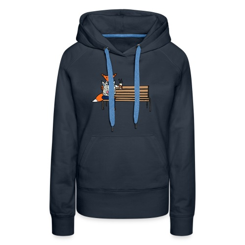 Coffee Fox - Women's Premium Hoodie