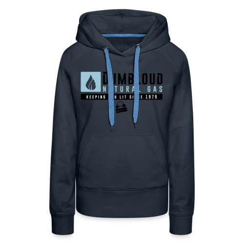 DUMBLOUD NATURAL GAS - Women's Premium Hoodie