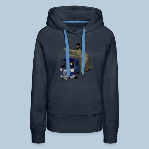 Out of Poopy - Septic Truck - Women's Premium Hoodie