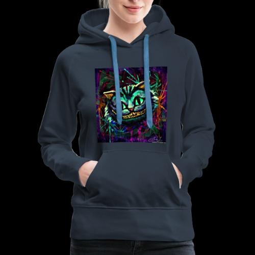 the cheshire cat by ex0tique - Women's Premium Hoodie