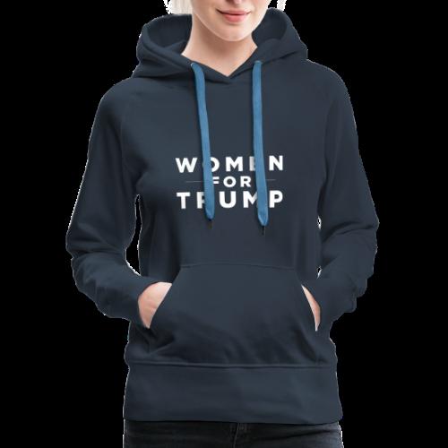 Women For Trump - Women's Premium Hoodie
