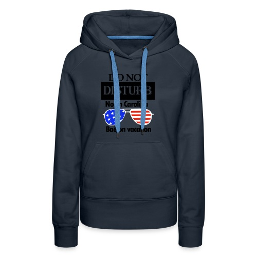 north carolinal bae shirt - Women's Premium Hoodie