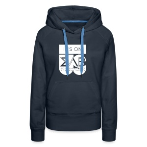 Its On Betas White - Women's Premium Hoodie