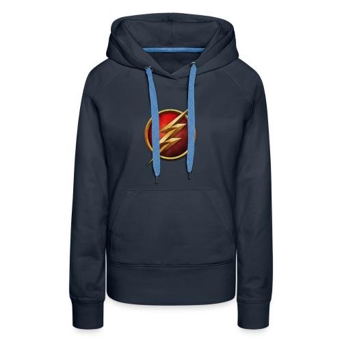 the_flash_logo_by_tremretr-d8uy5gu - Women's Premium Hoodie