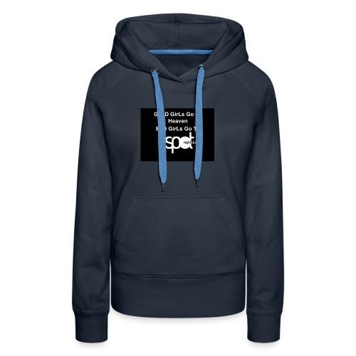 SpotTshirtBlack - Women's Premium Hoodie