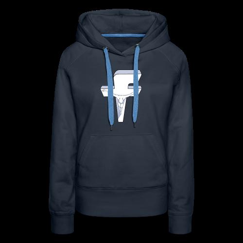 Facebook Dali - Women's Premium Hoodie