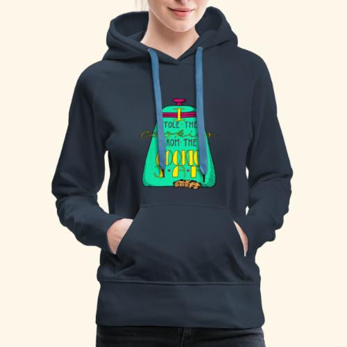 I Stole the Cookies From the Cookie Jar - Women's Premium Hoodie