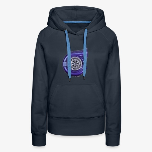 Blue Turbo Boost - Women's Premium Hoodie