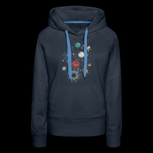 Space game - Women's Premium Hoodie