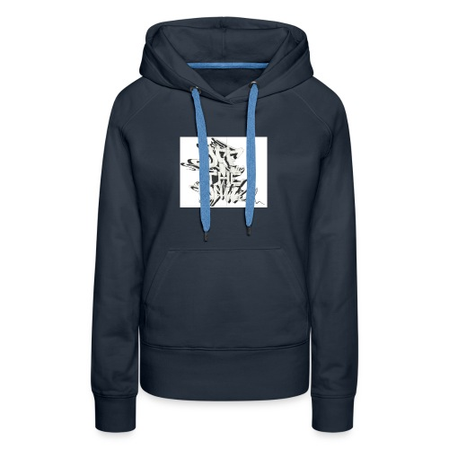 otw_final_graffiti_1 - Women's Premium Hoodie