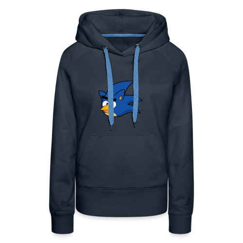 Sonic Angry Bird - Women's Premium Hoodie
