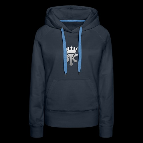 MK orignal logo gray - Women's Premium Hoodie