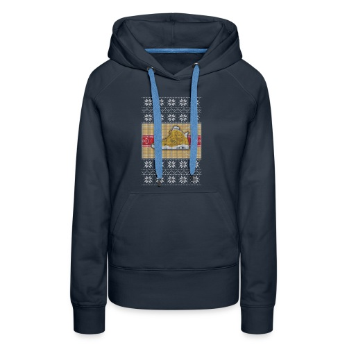 Retro6Sweater - Women's Premium Hoodie