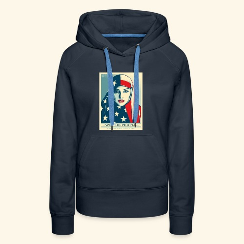 We the people are greater than fear - Women's Premium Hoodie