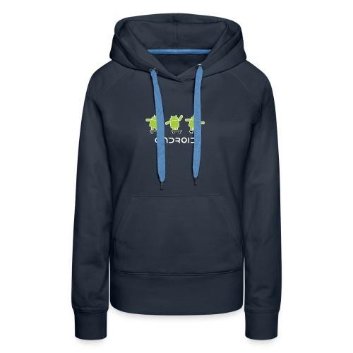 android logo T shirt - Women's Premium Hoodie