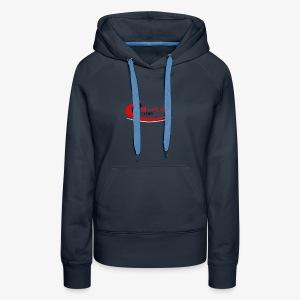 Fit 'n Fierce Athletics full logo - Women's Premium Hoodie