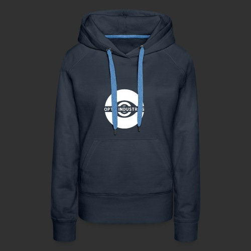 OPTIC Industries logo (White) - Women's Premium Hoodie