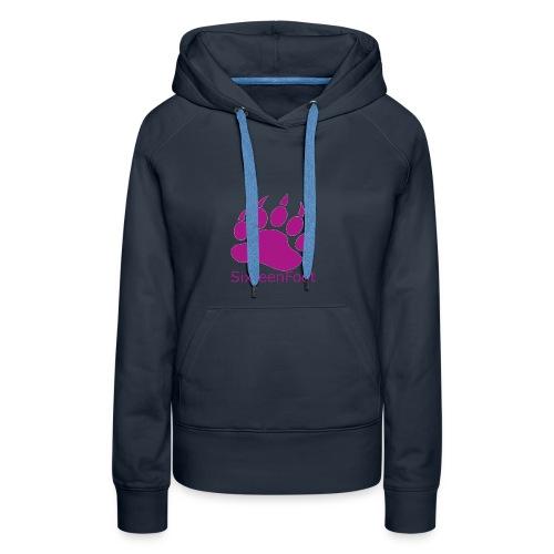 Purple_Logo - Women's Premium Hoodie