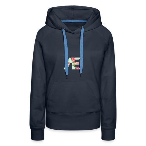 AE Floral design - Women's Premium Hoodie