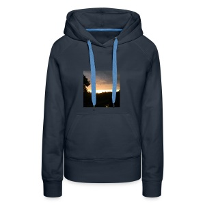 Country side sunset - Women's Premium Hoodie