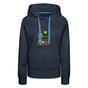 I AM BUT A SIMPLE FARMER TENDING TO MY MEMES - Women's Premium Hoodie