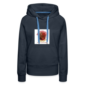 Lady in Red Bedroom Bully - Women's Premium Hoodie
