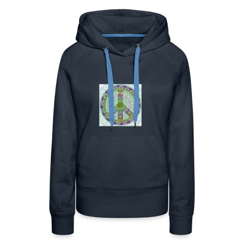 peace sign - Women's Premium Hoodie