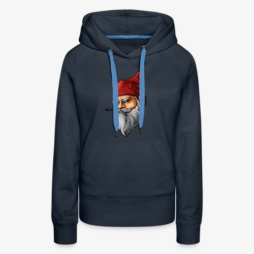 Gnome logo *face only* - Women's Premium Hoodie