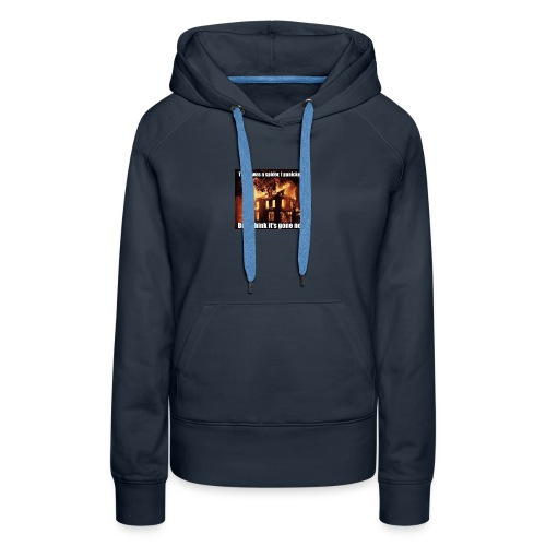 There was a spider - Women's Premium Hoodie
