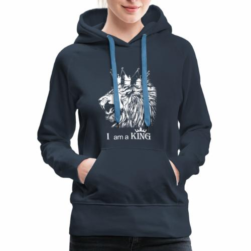 i am a king - Women's Premium Hoodie