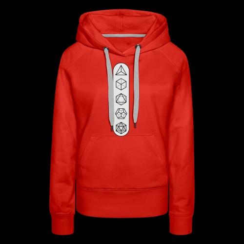 platonic-white-bg - Women's Premium Hoodie