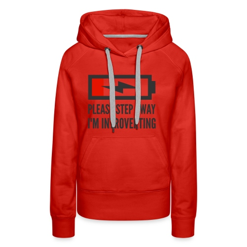 introverting - Women's Premium Hoodie