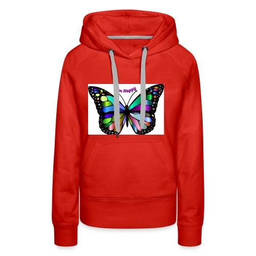 Happy Butterfly - Women's Premium Hoodie