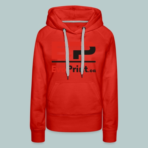 Evo_Print-ca_PNG - Women's Premium Hoodie