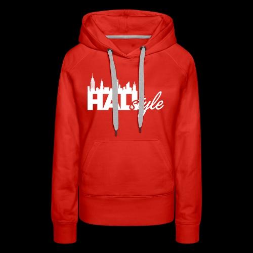 HALIStyle City Skyline - Women's Premium Hoodie