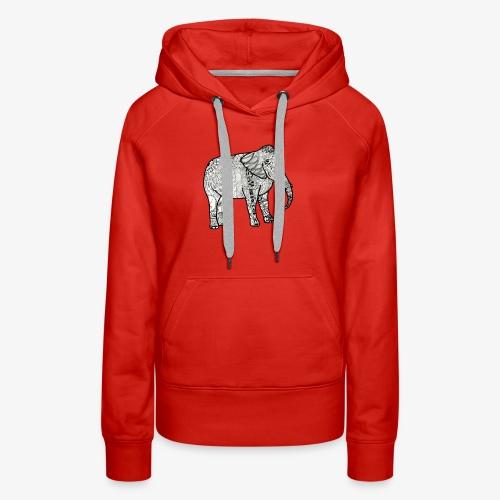 Elephant - Women's Premium Hoodie