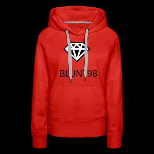 BLUNT98 - Apparel For Creative People - Women's Premium Hoodie