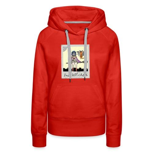 BYE WITCHES! Polariod - Women's Premium Hoodie