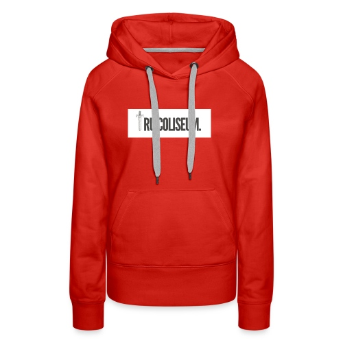 Tru Coliseum official Logo - Women's Premium Hoodie