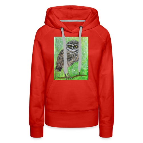 IMG 8818 Wise Owl - Women's Premium Hoodie