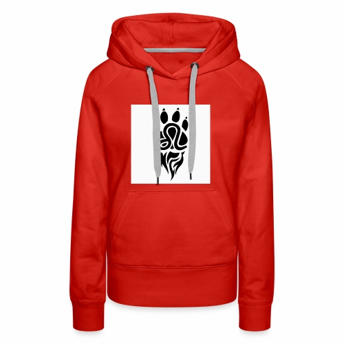 Black Leo Zodiac Sign - Women's Premium Hoodie