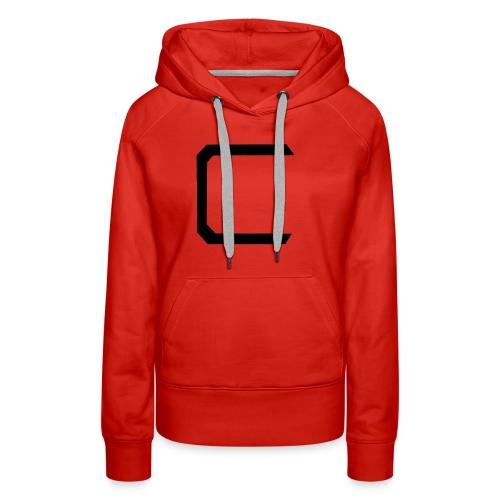 Cyberonic Logo Black - Women's Premium Hoodie