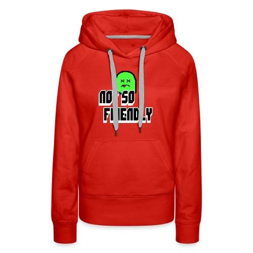 not_so_friendly_logo - Women's Premium Hoodie