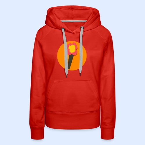 NeoMc Redstone Torch Design - Women's Premium Hoodie