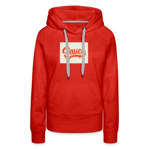 saucey brand - Women's Premium Hoodie
