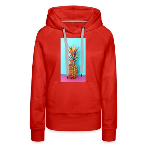 Colorful pineapple - Women's Premium Hoodie
