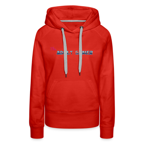 TAG new logo shirt Horizontal - Women's Premium Hoodie