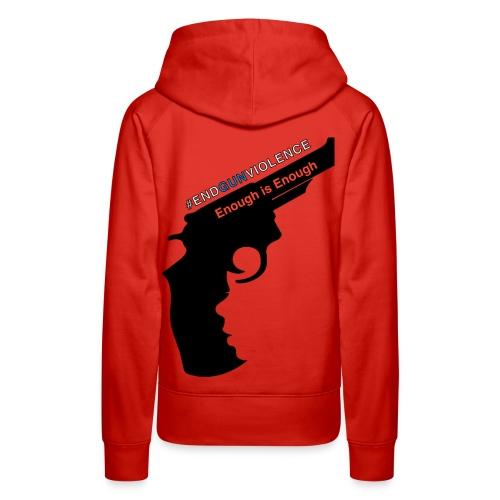End Gun Violence - Women's Premium Hoodie